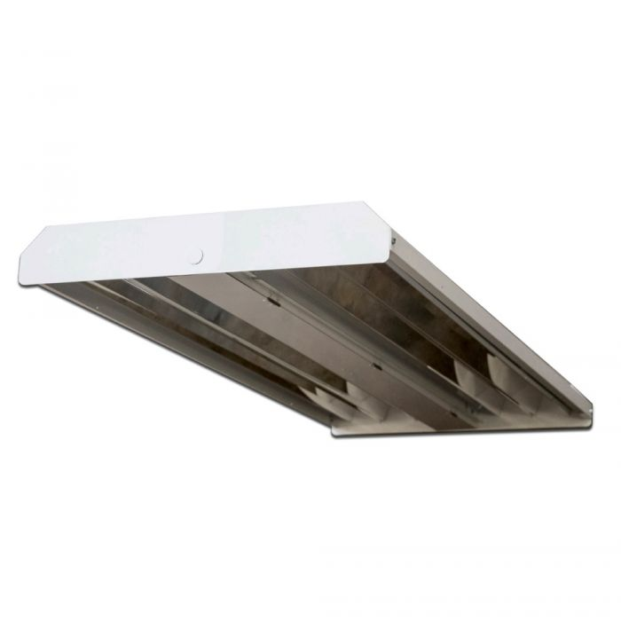 ILP PHB-160WLED-UNIV-50-ND DLC Premium Listed 160 Watt LED Narrow Distribution High Bay Fixture Dimmable 120-277V 5000K with V-Clips