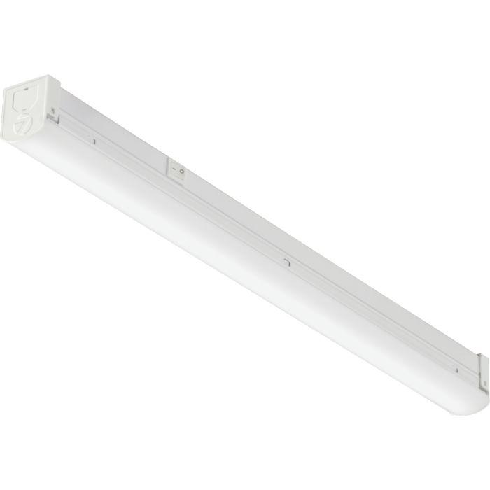 Lithonia Lighting RLNK L48 120 35K 80CRI M4 19.7 Watt 4 Foot LED Linkable Residential Strip Light Fixture