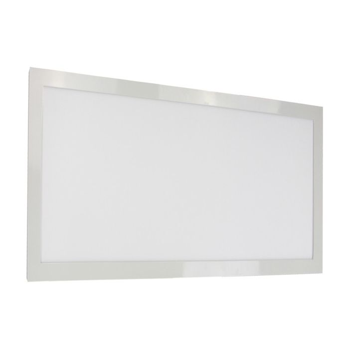 Satco Lighting 62-1152 22 Watt 1x2 Linear LED Surface Mount Fixture Dimmable White Finish 5000K