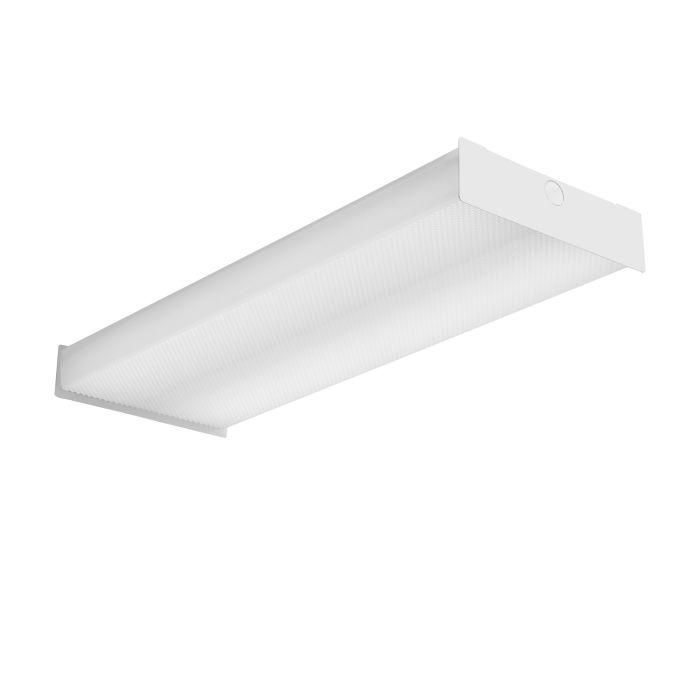 Lithonia Lighting Lithonia Lighting SBL2 23 Watt 2 Foot White LED Surface Square Basket Wraparound Light Fixture 120-277V