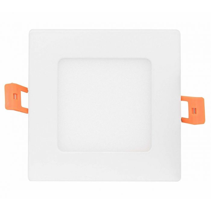 NaturaLED LED4DLS-60L9CCT3 9 Watt 4 Inch LED Slim Square Downlight with Color Selectable Feature
