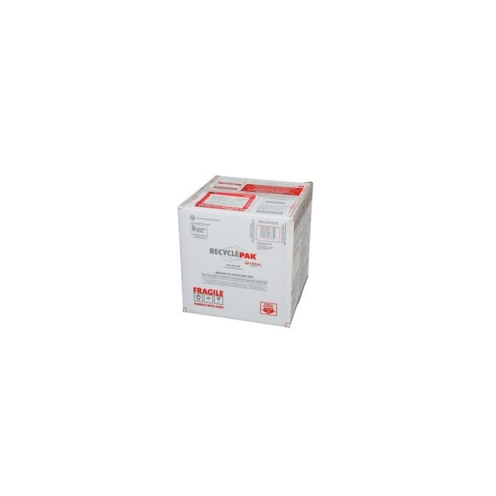 Veolia SUPPLY-192 RecyclePak Medium CFL Recycling Box Container Kit Prepaid Return Shipping Product
