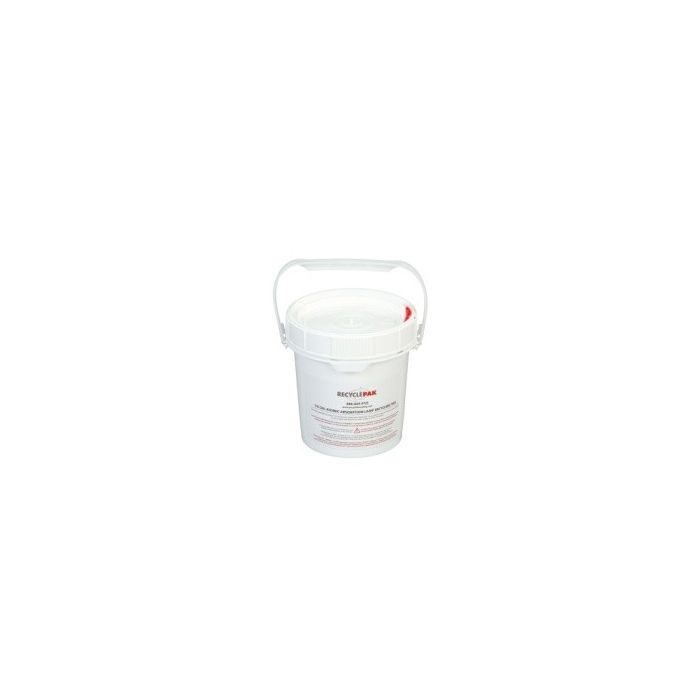 Veolia SUPPLY-243 RecyclePak 1/2 Gal. Atomic Absorption Lamp Recycling Pail Container Kit Prepaid Return Shipping Product