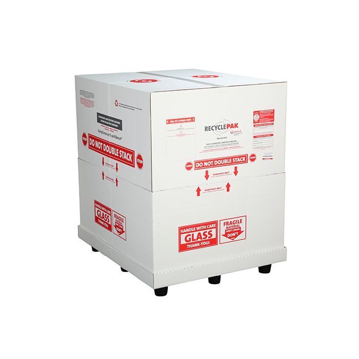Veolia SUPPLY-144 RecyclePak Bulk Lamp Recycling Box Container Kit Prepaid Return Shipping Product