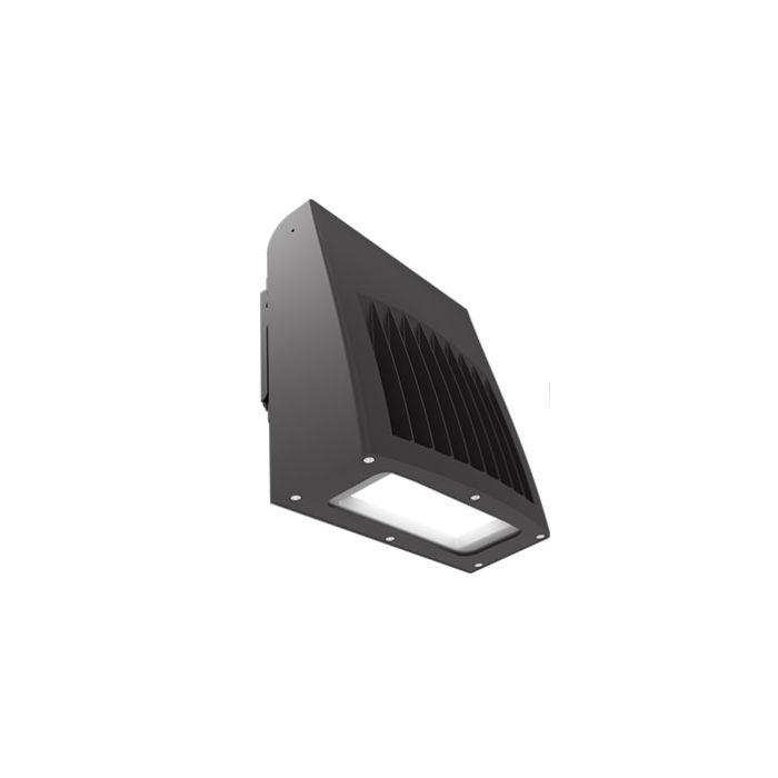 ILP SWP-5L-U-CCTS-BRZ 40 Watt Slim Wall Pack Selectable Color Temperature (3000K/4000K/5000K) Bronze Finish