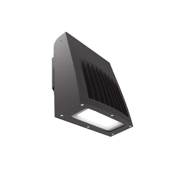 ILP SWP-10L-U-CCTS-BRZ 75 Watt Slim Wall Pack Selectable Color Temperature (3000K/4000K/5000K) Bronze Finish