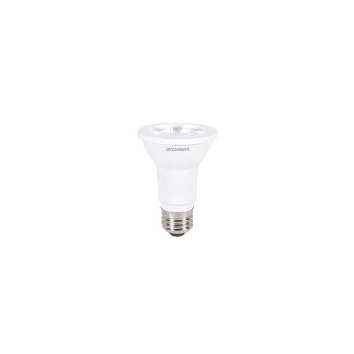 Sylvania 79279 LED6PAR20/830/FL45/10YV/RP2 6 Watt Contractor Series LED PAR20 Lamp E26 Base 3000K Replaces 50W Halogen