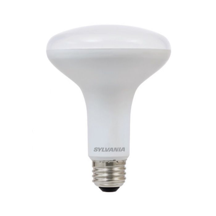 Sylvania LED9BR30DIM 9 Watt Contractor Series LED BR30 Reflector Lamp Medium Base Dimmable Replaces 65W Incandescent