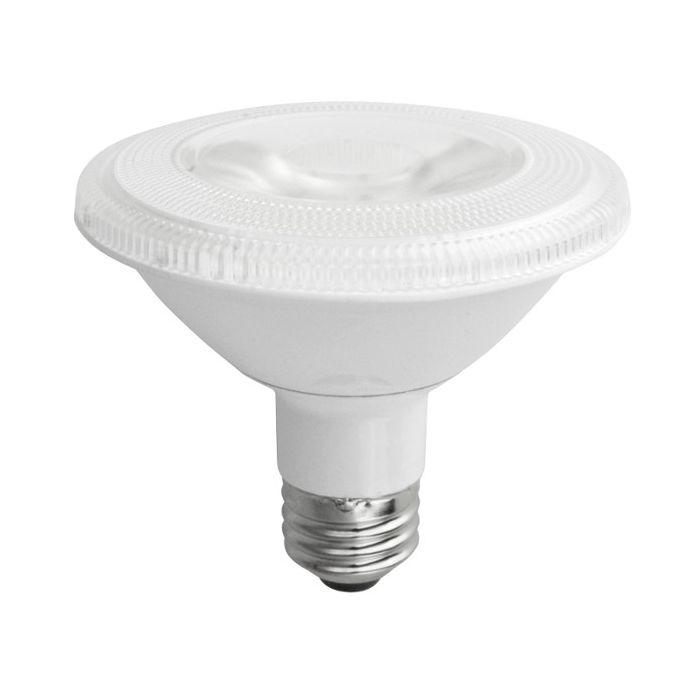 TCP Lighting LED12P30SD30KNFL 12 Watt 12W Par30 Short Neck Dimmable Narrow Flood Lamp 3000K