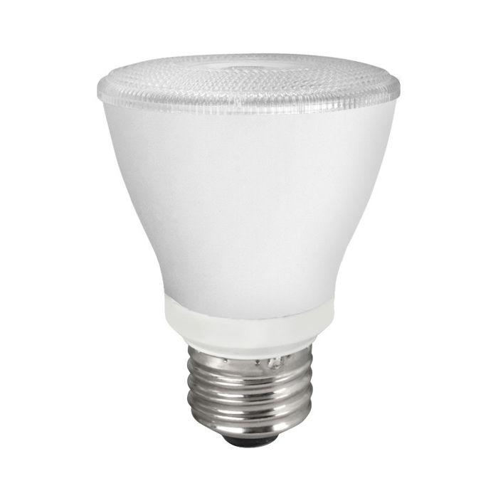 TCP Lighting LED8P20D35KNFL 8 Watt 8W PAR20 Dimmable Narrow Flood Lamp 3500K