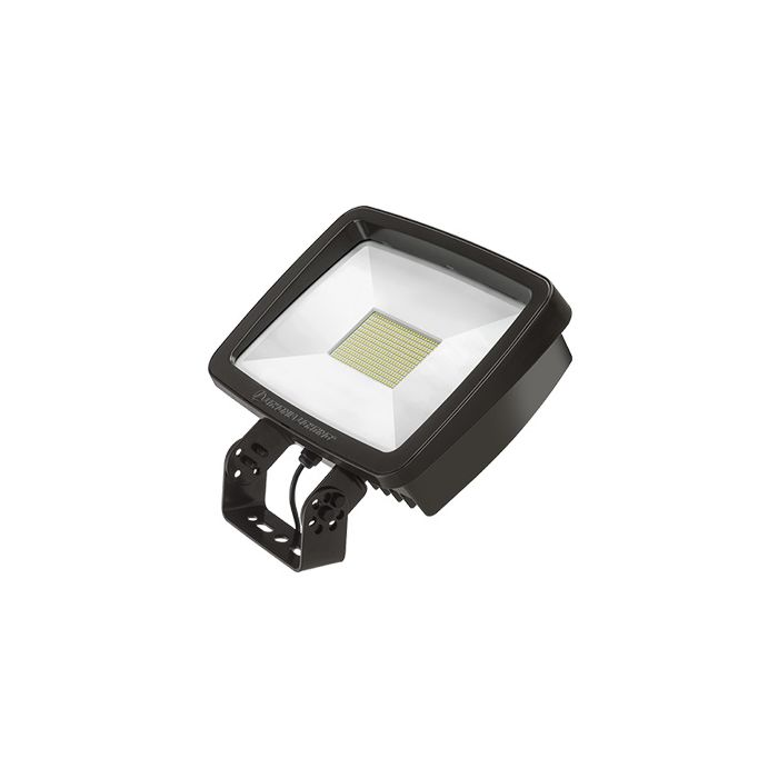 Lithonia Lighting TFX4 LED DLC Premium 296 Watt Outdoor LED Floodlight Fixture Replaces 1000W MH - Yoke or Slipfitter Mount