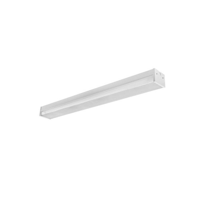 Toggled FS420P0 4FT LED 2 Tube Capacity Surface Mount Fixture with Prismatic Lens