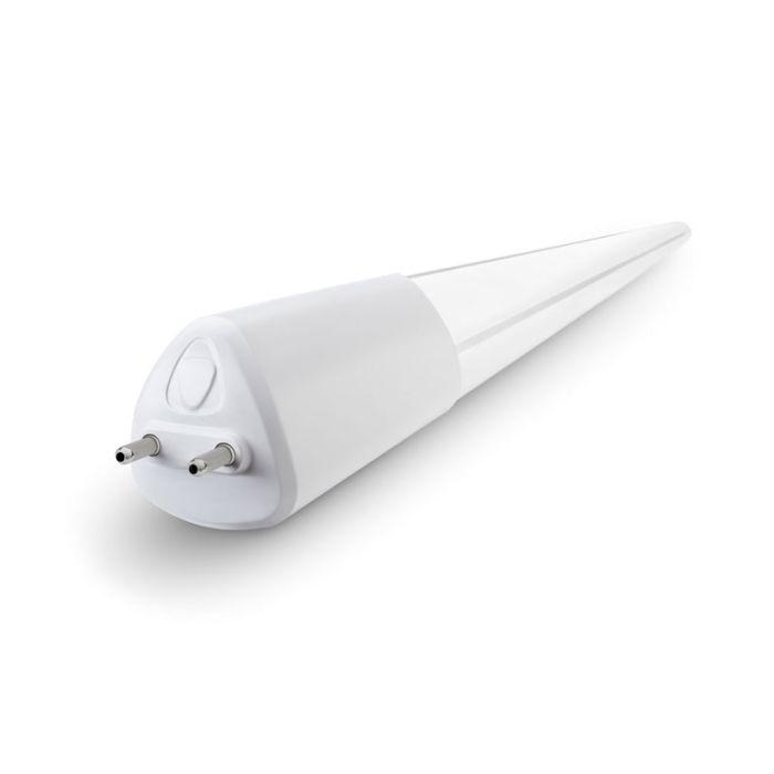 Toggled T416 DLC Listed 16 Watt 4-FT LED iQ Smart Tube Direct Wire Lighting Control System T8/T12 Tube 120-277V