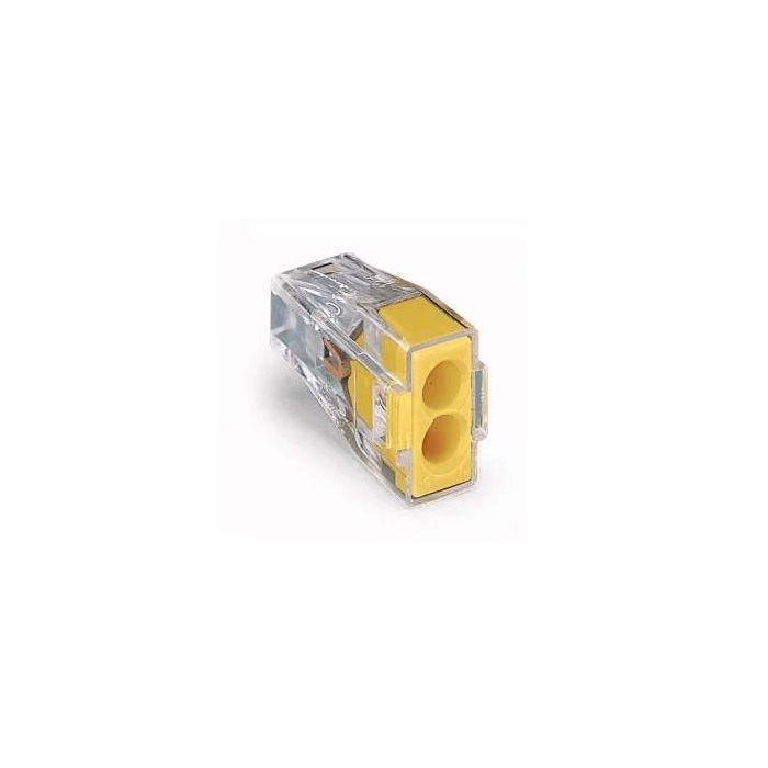 WAGO 773-162 WALL-NUTS 2-Conductor Push-Wire Connector for Junction Boxes - 100 PCS per Box