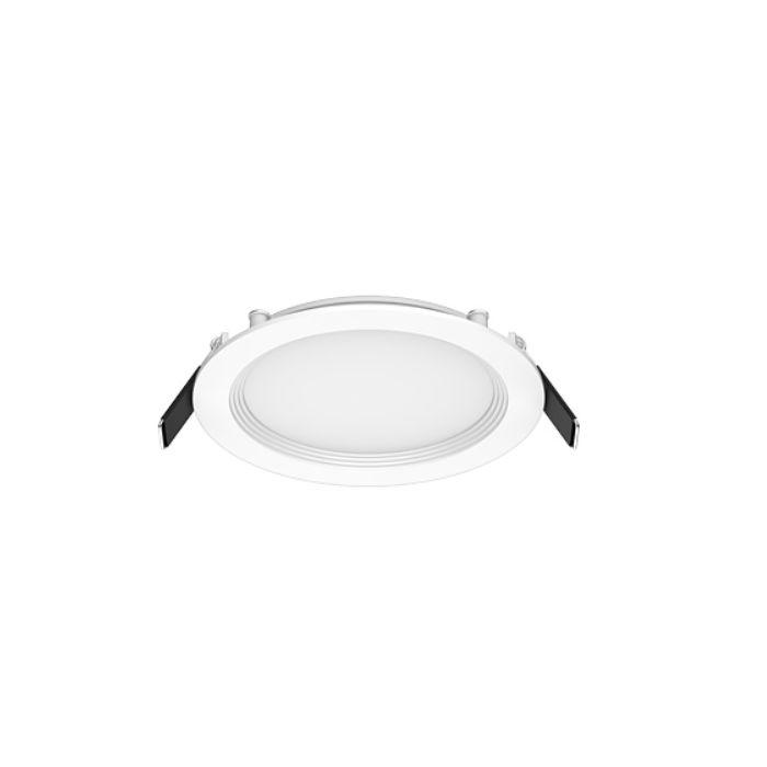 RAB Lighting WFR4R99FA120WB 9 Watt 4 Inch Field Adjustable Edge-Lit Wafer Baffle Downlight