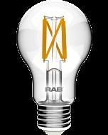 RAB Lighting A19-5-E26-F 5-Watt A19 Premium Filament Decorative Lamp 40W and 60W Incandescent Equivalent