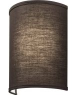 Brown Lithonia Lighting FMABSL-11 9 Watt Aberdale 11 Inch LED Dimmable Wall Sconce Light Fixture