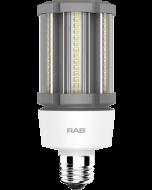 RAB Lighting HID-18-E26 18 Watt Ballast Bypass Post Top Lamp 100-277V - Replaces 75W MH