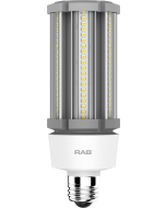RAB Lighting HID-27-E26 27 Watt Ballast Bypass Post Top Lamp 100-277V - Replaces 125W MH