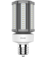 RAB Lighting HID-36-EX39 36 Watt Ballast Bypass Post Top Lamp 100-277V - Replaces 150W MH