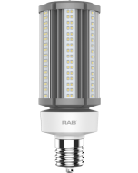 RAB Lighting HID-45-EX39 45 Watt Ballast Bypass Post Top Lamp 100-277V - Replaces 175W MH