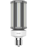 RAB Lighting HID-54-EX39 54 Watt Ballast Bypass Post Top Lamp 100-277V - Replaces 200W MH