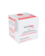 Veolia SUPPLY-123 RecyclePak Consumer CFL Recycling Box Container Kit Prepaid Return Shipping Product