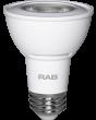 RAB Lighting PAR20-7 Energy Star Rated 7 Watt LED PAR20 E26 Lamp 120V Dimmable 50W Equivalent