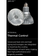 Thermal Control CREE LBR30A92-50D 12 Watts 12W BR30 Edison Base LED 50 Degree Dimmable Lamp 2700K