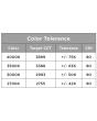 Color tolerance CREE ESA-C10-NS-28-D-U 53 Watt 53W Essentia Surface Cylinder LED Downlight 10