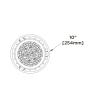 Dimensions CREE ESA-C10-NS-42-D-U 75 Watt 75W Essentia Surface Cylinder LED Downlight 10