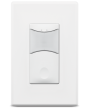 Sensorworx SWX-111 Auto On 1-Pole Wall Switch Sensor with Passive Infrared & Photocell