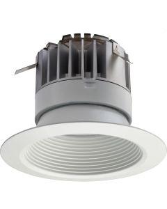 Lithonia Lighting 4BPMW LED 30K 90CRI M6 11.2 Watt 4 inch White LED Recessed Baffle Downlight Retrofit Module 3000K
