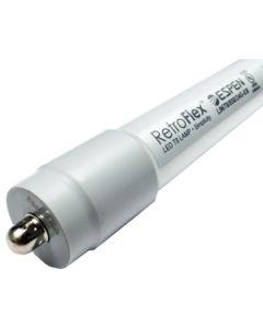 ESPEN Technology L60T8/SL/840/15G-EB 15 Watt 60 Inch 5 Foot Ballast Compatible Retrofit LED T8 Glass Tube Lamp 4000K