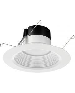 Lithonia Lighting 65BEMW LED 50K M6 5 / 6 Inch Recessed Downlight Dimmable 65 Watt Equivalent Title 24 Compliant