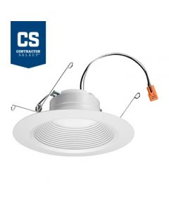 Lithonia Lighting 65BEMW LED 35K 90CRI M6 12 Watt 5 / 6 Inch Recessed Downlight Dimmable 65 Watt Equivalent Title 24 Compliant