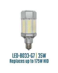 Light Efficient Design LED-8033E40-G7 35 Watt Corn Cob Post Top Roadway Retrofit Lamp 4000K