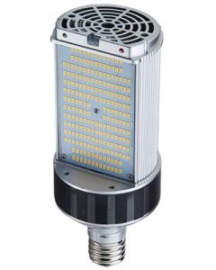 Light Efficient Design LED-8087M 30 Watt LED Shoebox Wallpack Retrofit Lamp E39 Base for 100W Metal Halide