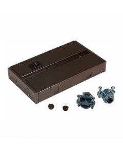 American Lighting ALC-BOX Hardwire Junction Box for LED Under Cabinet Light Fixture - Dark Bronze