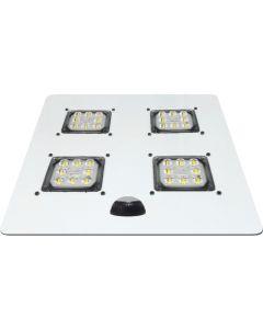 SimplyLEDs ALD-R-040W DLC Premium Listed 40 Watt LED No-Measure Universal Retrofit Kit 120-277V