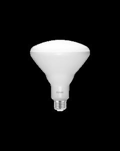 RAB Lighting BR40-11-9 11 Watt LED BR40 Reflector E26 Lamp 90CRI 120V Dimmable 65W Equivalent