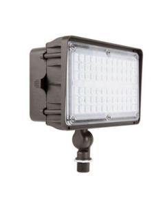 SLG Lighting DLC Premium Listed FDCL Large LED Flood Light Contractor Series 5000K 347-480V