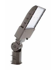 Arcadia Lighting FLFX-100W DLC Listed 100-Watts LED Flood Light Fixture 120-277V Dimmable