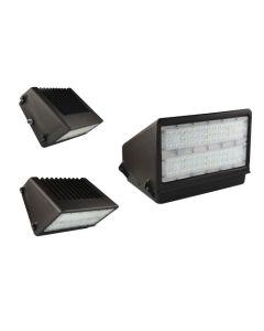 Aleddra AWP-FWP01 DLC Premium Listed LED Full-Cutoff Wallpack Fixture 5000K 100-277VAC