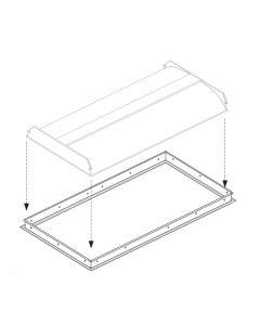 Howard Lighting LCB-FK24 2x4 Flange Mounting Kit for LCB-24 Series