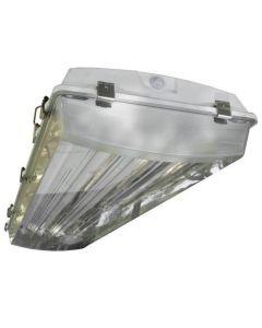 Howard Lighting VHA1A632ASEMV000000I VHA1 6 Lamp T8 Fluorescent Enclosed Vapor Dust Proof Lighting Fixture NSF IP67