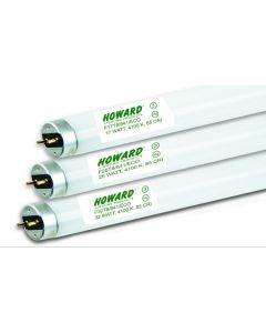 Howard Lighting F17T8/841 17W 17 Watt T8 Linear Fluorescent Lamp 841 4100K