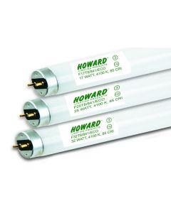 Howard Lighting F25T8/841/ES/ECO/IC 25W 25 Watt T8 Linear Fluorescent Lamp 841 4100K