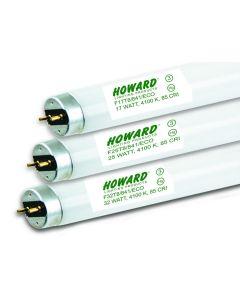 Howard Lighting F28T8/830/ES/ECO/IC 28W 28 Watt T8 Linear Fluorescent Lamp 830 3000K