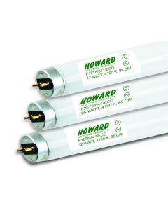 Howard Lighting F32T8/835/ECO 32W 32 Watt T8 Linear Fluorescent Lamp 835 3500K
